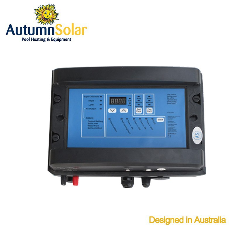 Autumn solar electric salt water chlorinator for swimming pools