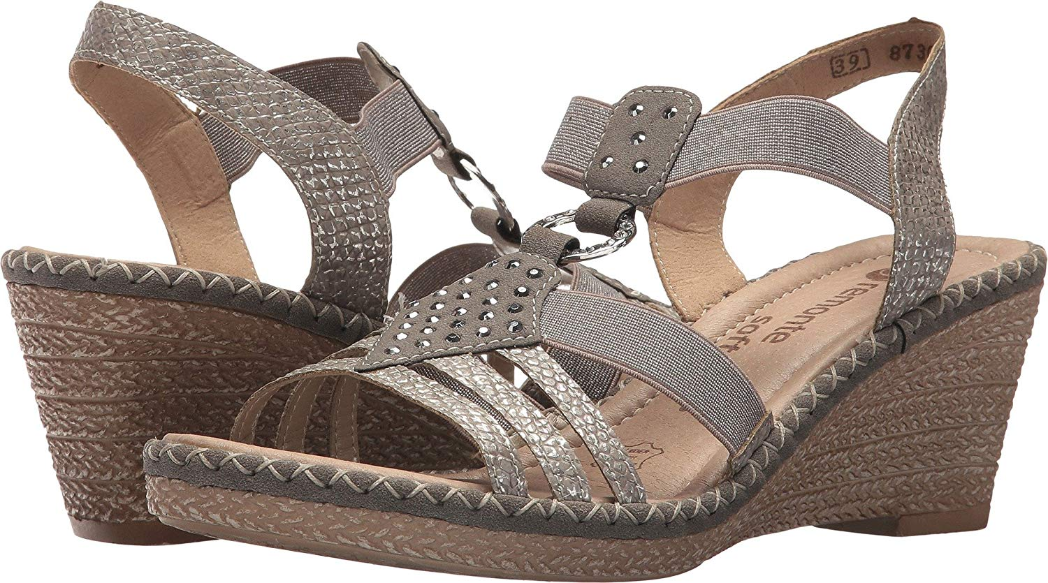 fa2afd694b46d8 Get Quotations · Rieker Women s Ursula 68 by Remonte Sandals