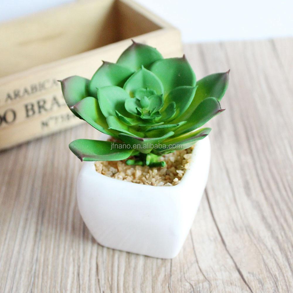 regalo de navidad creativo realista plstico plantas suculentas pequeas plantas