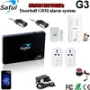 Saful G3 GSM Intelligent Alarm System with SMS remote control