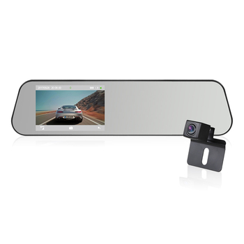 vehicle blackbox dvr with dual lens camera