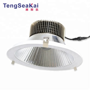 "2018 best ceiling mounted 60 90 120degree high power recessed light 6""8 10 inch 50w 60w 80w 100w 150w cob led downlight"