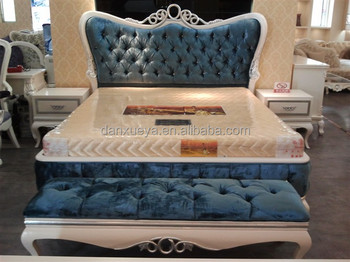 European French Baroque Elegant King Size Queen Double Beds