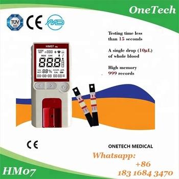 Hm07-b Diagnostic Equipment Portable Hemoglobin Hba1c Analyzer/meter Blood  Test Equipment Price - Buy Hemoglobin Test Equipment,Hemoglobin