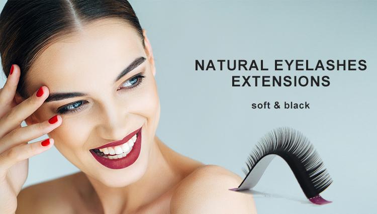 Wholesale Siberian Mink Individual Eyelash Extension Charming Mink Fur Lashes In China