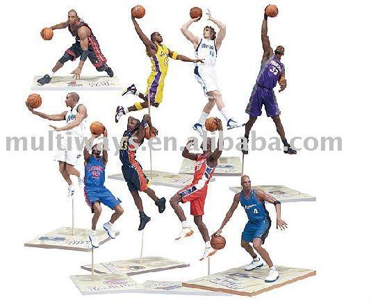 Baloncesto Mini Plástico Figura (mw-pt454) - Buy Nba Estrellas ...