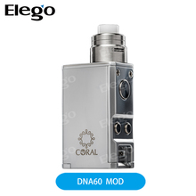 2017 New 100% Authentic Electronic cigarette Lost Vape Coral DNA60 Box Mod vs Lost Vape Therion DNA75C Mod