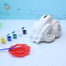 Educational Toys - DIY ceramic money bank painting kits for children