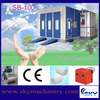 High quality CE approved used paint booth/car paint mixing machine/furniture painting booth