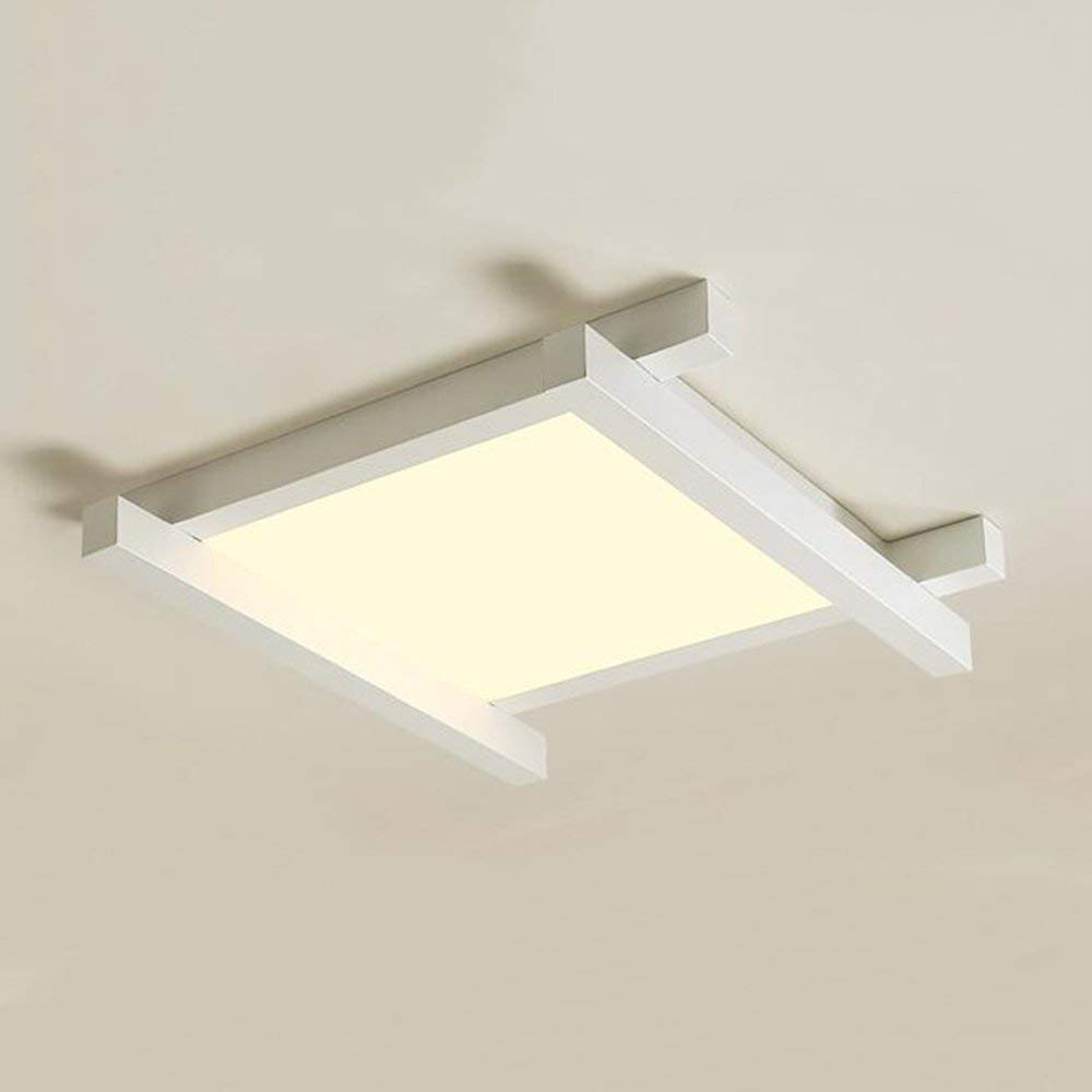 XQY Ceiling Light-Square Led Patch Iron Lamp Body Acrylic Shade Ceiling Lights Modern Simplicity Children's Room Lamps 444412Cm/545412Cm /646412Cm - Energy Saving Ceiling Light