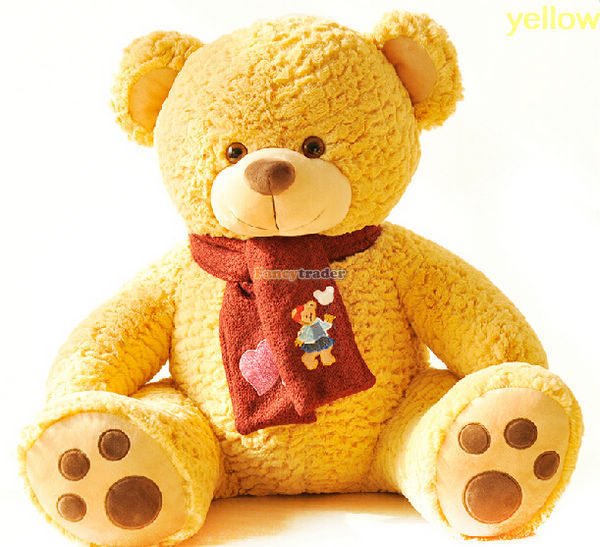 Get Quotations Fancytrader 43 110cm Giant Plush Super Soft Stuffed Lovely Teddy Bear 3