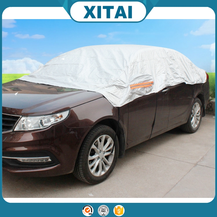 Cotton wool Xitai car accessories 190t material car half cover with good quality art.-no. c189