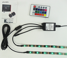 New 5V USB cable blue/white/red/green/RGB color 2*50CM led TV backlighting mini led