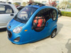 Closed cabin passenger tricycle/3 wheel electric motorcycle for passenger with 3 seats/60v voltage and passenger use for taxi
