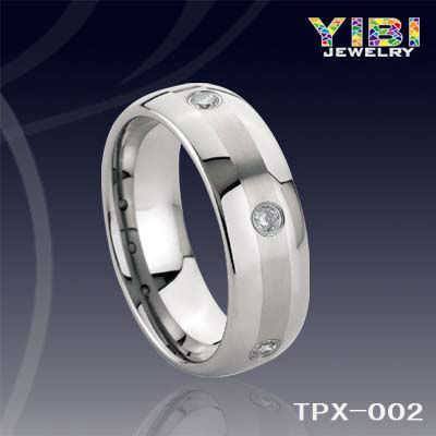 fashion chinese jewellery,tungsten carbide ring, diamond jewelry