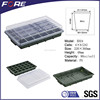 24 Cell Polystyrene Plastic Seedling Tray and Lid For Nursery Seeding