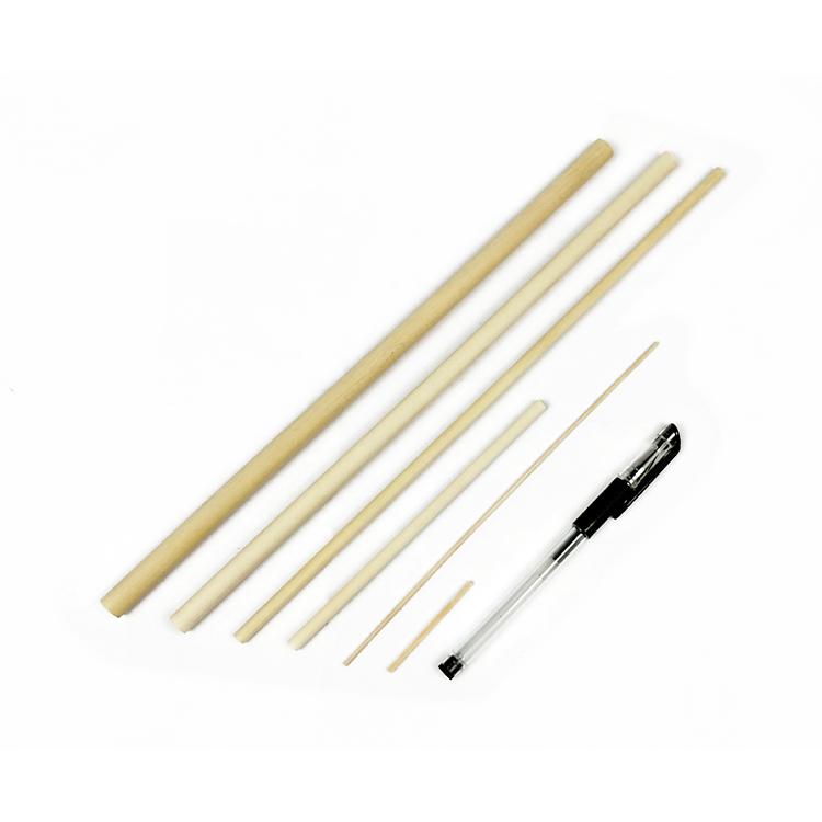 Yiwu Huaxuan оптовая продажа натурального массива березы круглого дюбеля стержня пользовательских размеров для украшения или ручной работы