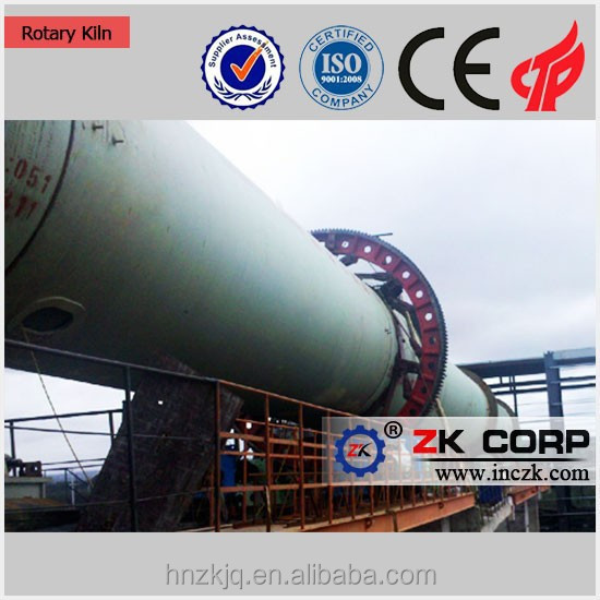 Top Brand Rotary Kiln For Proppant Plant Line