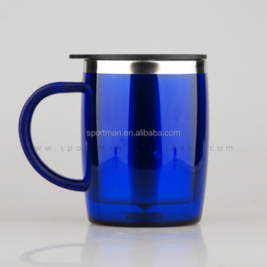 Hot items 2015 big plastic thermal travel camping drinking mug
