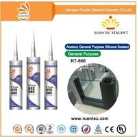 Export to India cartridge acetic silicone sealant for glass