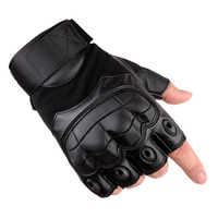 half finger synthetic leather motorbike racing motorcycle gloves
