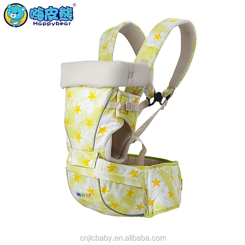 Factory direct sale baby hip seat carrier cotton frame material baby carrier backpack