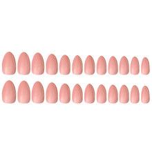 Накладные ногти 24 шт., натуральные короткие накладные ногти, полное покрытие, Акриловые искусственные ногти для салонов ногтей, инструмент ...(Китай)