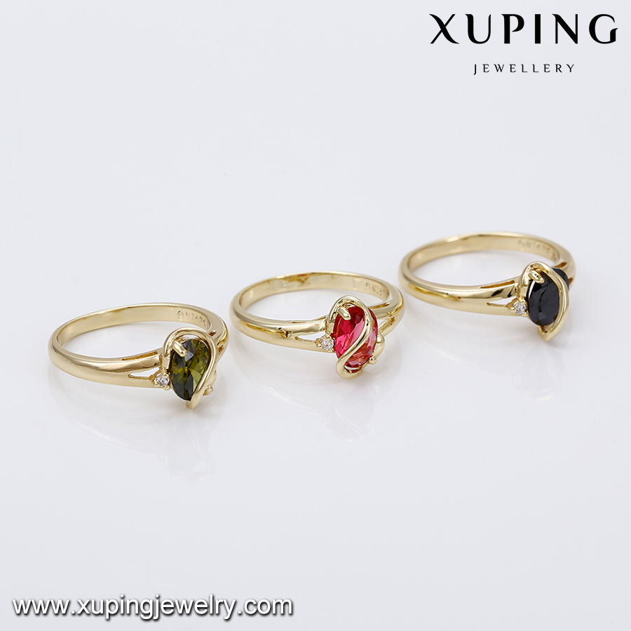 14532 Latest Gold Ring Designs For Girls,Ruby Stone Round Shape ...