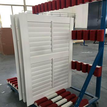 Australia standard High Quality PVC plantation shutters/window blinds directly from China