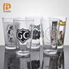 Only Craft is Beer Pint Glass Classic Glass Cups with Decal for Bar Ues