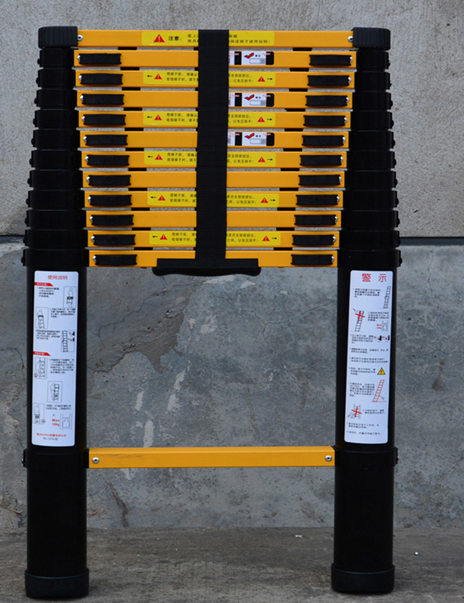 Hot Aluminum folding super step ladder telescopic