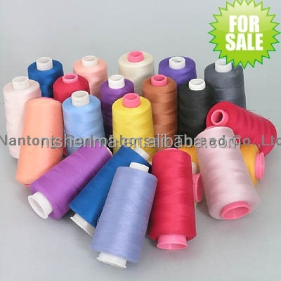 polyester material general purpose sewing thread wholesale