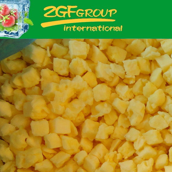 IQF Frozen Fresh fresh md2 pineapple in good quality in bulk
