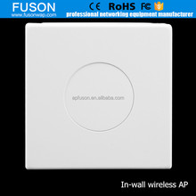 Alibaba China Factory 300Mbps 2T2R In Wall Mount Long Range Wireless Access Point Support OEM