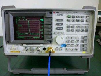 used spectrum analyzer agilent hp 8593e 9khz 22ghz buy used rh alibaba com Audio Spectrum Analyzer Portable Spectrum Analyzer