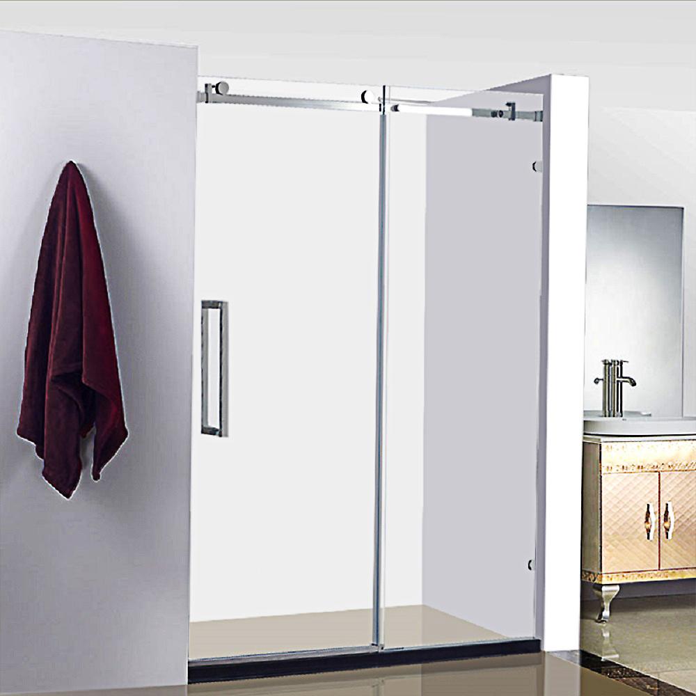 Frameless Sliding Glass Shower Door Frameless Sliding Glass Shower