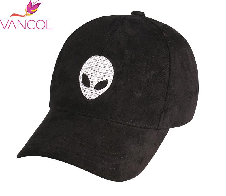 222c8d6a1b327 Vancol 2016 Hot Sale Aliens Outstar Saucer Cap Soft Suede Hat Wholesale Caps  Sport Trucker Hat Black Pink Men Women Baseball Cap-in Baseball Caps from  ...