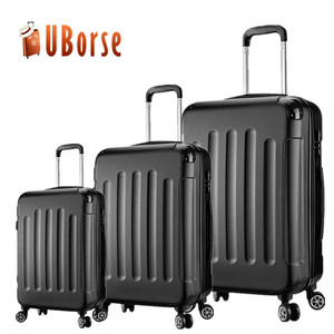 Hard case ABS 4 wheel spinner suitcase luggage sets trolley bag