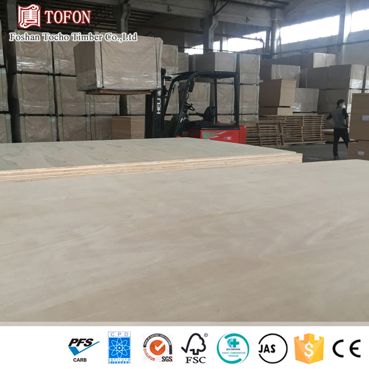 3mm Long Life Time Guarantee No Degumming Birch Plywood