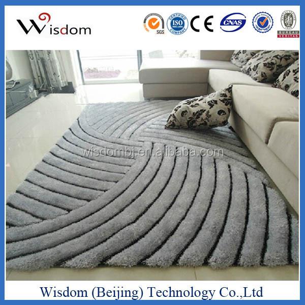 Teppich in unregelmäßiger Form   Scribble von Front