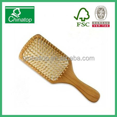 New Style Spornette Wooden Bristle Brush Comb For All Types Hair Extensions