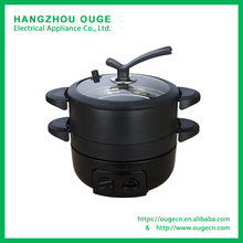 HP504 Electric Multi Pot with Grill Pan and Mini Wok