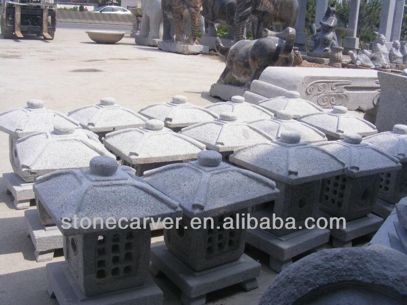 Memorial Stones For Graves Chinese Led Lantern