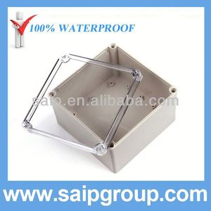 IP66 China Waterproof Post Box With Clear Cover200x200x130mm