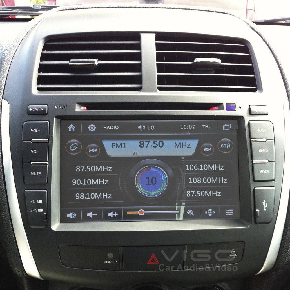 buy car stereo gps navigation for mitsubishi asx rvr outlander sport for. Black Bedroom Furniture Sets. Home Design Ideas
