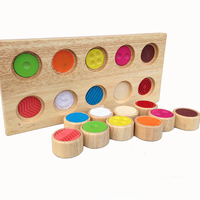 Gifts for kids wooden memory sense touch toy