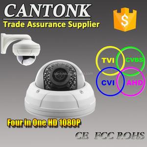 4 in 1 CCTV Camera HD 1080P Support AHD/HDCVI/HDTVI/CVBS output signal  Cantonk brand