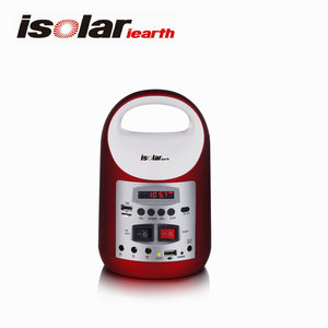 Is-1399S Solar Power Speaker With Tf/Usb And Solar Charge Lighting System With Solar Energy Am/Fm Blue Tooth Radio