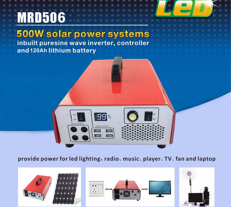 1-container smart control Solar panel Power System home AC inverter lighting portable.png