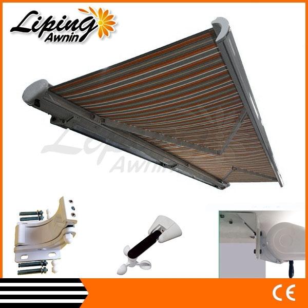 r tractable balcon toit terrasse syst me de couverture pare soleil auvent auvents id de produit. Black Bedroom Furniture Sets. Home Design Ideas